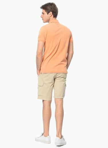 George Hogg Polo Yaka Tişört Oranj